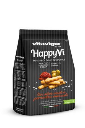 Happy Vi Mini Grissini sticks with Tomato And Olive